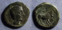 Ancient Coins - Spain, Castulo Circa 125 BC, AE23