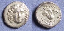 Ancient Coins - Rhodes, Gorgos magistrate 205-190 BC, Drachm