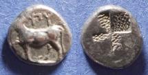 Ancient Coins - Thrace, Byzantium 416-357 BC, 1/2 Siglos