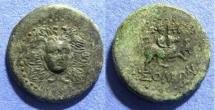 Ancient Coins - Cilicia, Soloi 100-30 BC, AE26