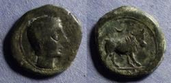 Ancient Coins - Spain, Castulo Circa 125 BC, AE23