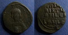 Ancient Coins - Byzantine Empire, Anonymous class A3 1022-1028, Follis