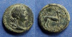 Ancient Coins - Kingdom of Galatia, Amyntas 36-25 BC, AE17