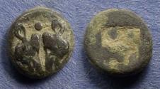 Ancient Coins - Lesbos, Uncertain mint 500-450 BC, Diobol
