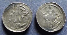 World Coins - Lorraine, Neufchatel, Ferri III 1252-1303, Denier