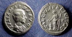 Ancient Coins - Roman Empire, Julia Maesa 218-223, Denarius