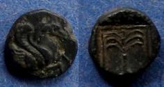 Ancient Coins - Troas, Skepsis Circa 350 BC, AE9