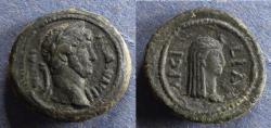 Ancient Coins - Roman Egypt, Arsinoite Nome, Hadrian 138-161, Obol
