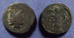 Ancient Coins - Panormus Sicily, Roman Protectorate After 212 BC, AE19