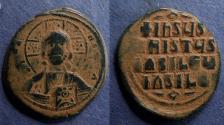 Ancient Coins - Byzantine Empire, Anonymous Class A3 1020-1025, Follis
