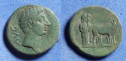 Ancient Coins - Macedonia, Phillipi, Augustus 27BC-14AD, Bronze AE20