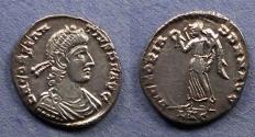 Ancient Coins - Roman Empire, Constantius II 337-361, Siliqua