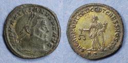 Ancient Coins - Roman Empire, Maximianus 286-305, Follis