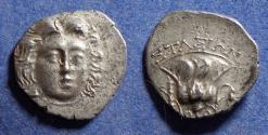 Ancient Coins - Islands off of Caria, Rhodes 205-190 BC, Drachm