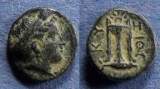 Ancient Coins - Mysia, Kyzikos Circa 250 BC, AE10.5