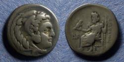 Ancient Coins - Macedonian Kingdom, Alexander III 336-323 BC, Lifetime issue Drachm