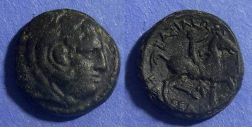 Ancient Coins - Macedonian Kingdom, Kassander 305-297 BC, AE17