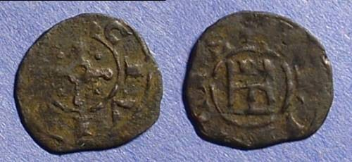 Ancient Coins - Crusader: Tripoli Bohemond V 1233-51,AE Pougeoise