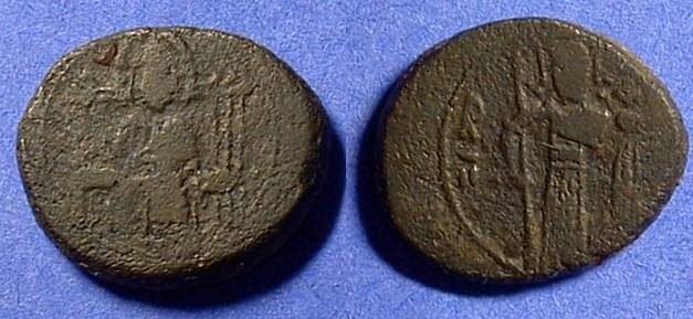 Ancient Coins - Kingdom of Sicily - Roger II 1130-1154 Di-follaro