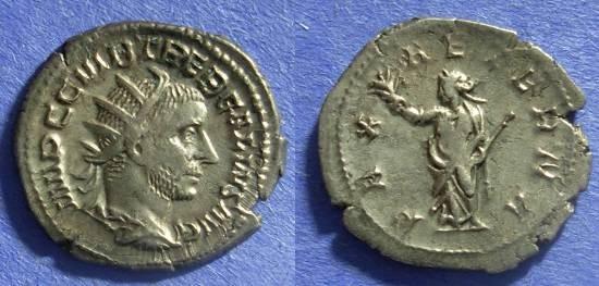 Ancient Coins - Roman Empire Trebonianus Gallus 251-3 Antoninianus