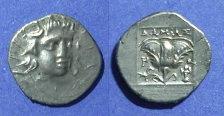 Ancient Coins - Rhodes,  125-88 BC, Hemidrachm