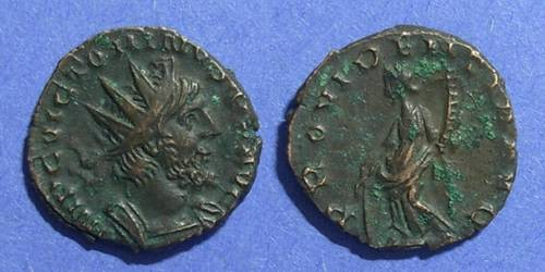 Ancient Coins - Rome - Gallic Successionist Empire, Victorinus 269-71, Antoninianus