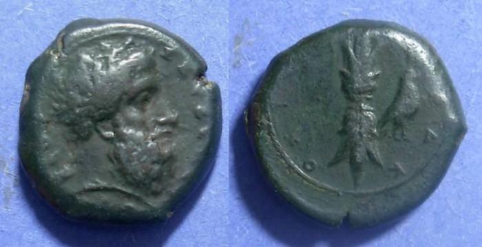 Ancient Coins - Syracuse Sicily, Dion 357-4 BC, Hemilitron