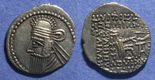 Ancient Coins - Parthia, Vologases IV 147-191 AD, Drachm