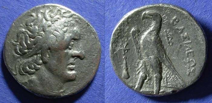 Ancient Coins - Egypt, Ptolemy II 285-246, Tetradrachm