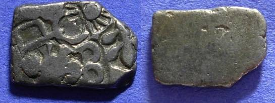 Ancient Coins - India - Kingdom of Magadha - Karshapana circa 413-345BC