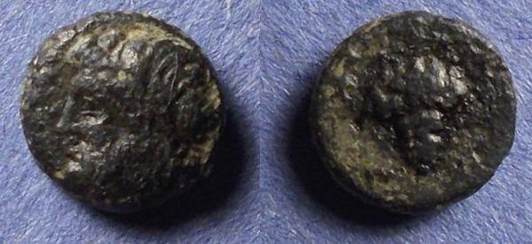 Ancient Coins - Temnos, Aeolis Circa 325 BC, AE9