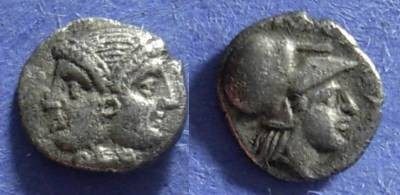 Ancient Coins - Lampsacus, Mysia Circa 350 BC, Diobol