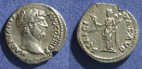 Ancient Coins - Roman Empire, Hadrian 117-138 AD, Denarius