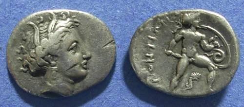 Ancient Coins - Lokris,  340-330 BC, Triobol