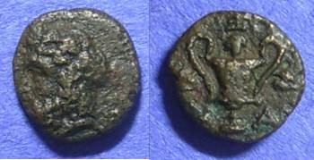Ancient Coins - Cyclades – Naxos AE11– Circa 350 BC
