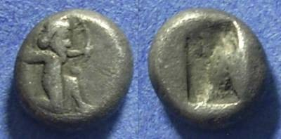 Ancient Coins - Achaemenid Kingdom,  500-485 BC, 1/3 Siglos
