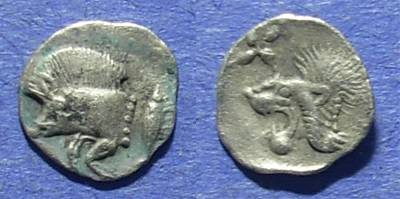 Ancient Coins - Kyzicus, Mysia 525-475 BC,