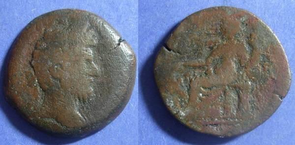 Ancient Coins - Roman Egypt, Lucius Verus 161-9, Drachm