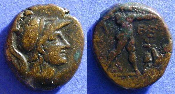 Ancient Coins - Athens - AE19 - 99BC