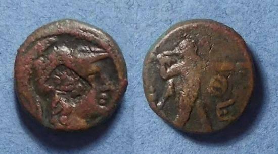 Ancient Coins - Athens,  Circa 100 BC, AE