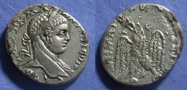 Ancient Coins - Antioch - Laodicea issue, Elagabalus 218-222, Tetradrachm
