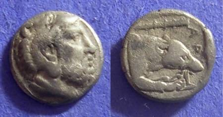 Ancient Coins - Macedonian Kingdom: Archelaus 413-399 BC – Obol