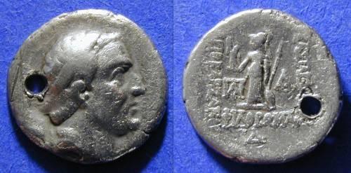 Ancient Coins - Cappadocia - Ariobarzanes I 95-63 BC - Drachm