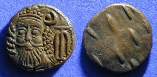 Ancient Coins - Elymais - Orodes II Circa 175AD  AE drachm