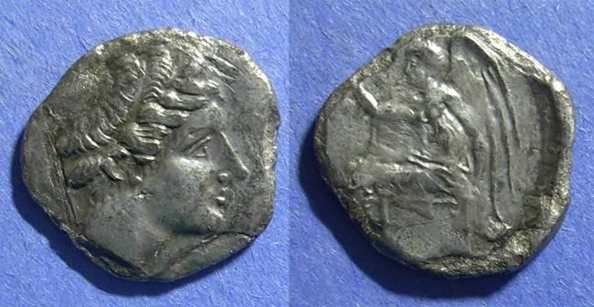 Ancient Coins - Terina, Bruttium Circa 300 BC, Nomos