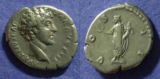 Ancient Coins - Marcus Aurelius (as Caesar) 138-161 Denarius