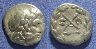 Ancient Coins - Achaian League, Argos Argolis 175-168 BC, Hemidrachm