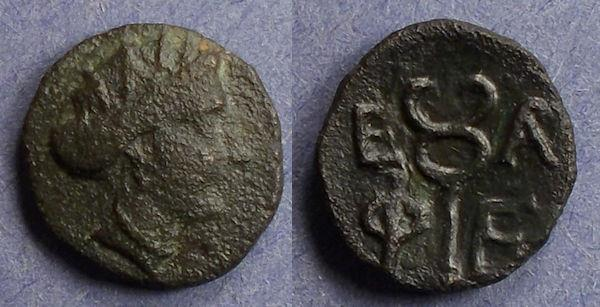 Ancient Coins - Arkadia, Pheneos Circa 340 BC, AE15