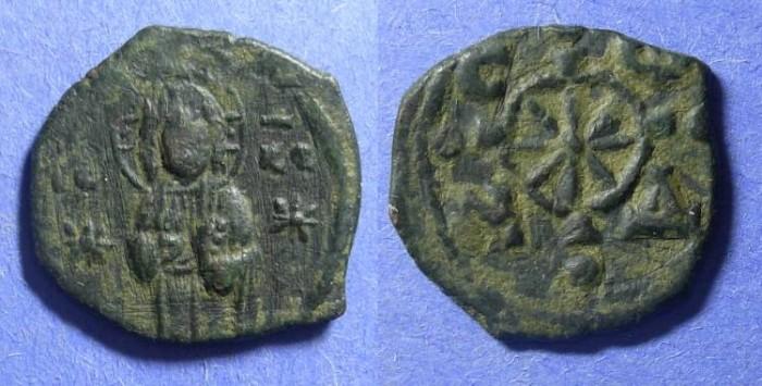 Ancient Coins - Byzantine Empire, Nicephorus III 1078-81, Follis