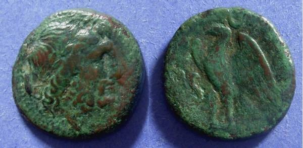 Ancient Coins - Bruttium, The Brettii 216-208 BC, AE22